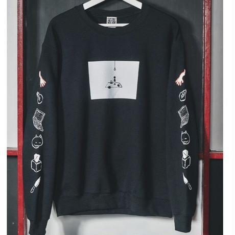 【OMORI】WHITE SPASE Sweater【OMOCAT】