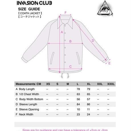 【Invasion club】アニメイソンコーチジャケット