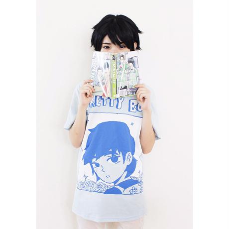【OMOCAT】PRETTYBOY Blue T-Shirt