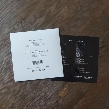 "Shin Sakiura - More Life feat. Ryohu (7"" Vinyl)"