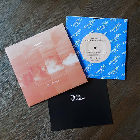 "Shin Sakiura - このまま夢で feat. AAAMYYY (7"" Vinyl)"