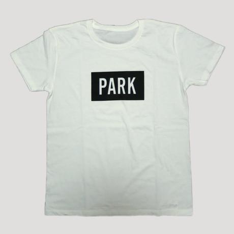 PARK -  LOGO Tee (white x black)