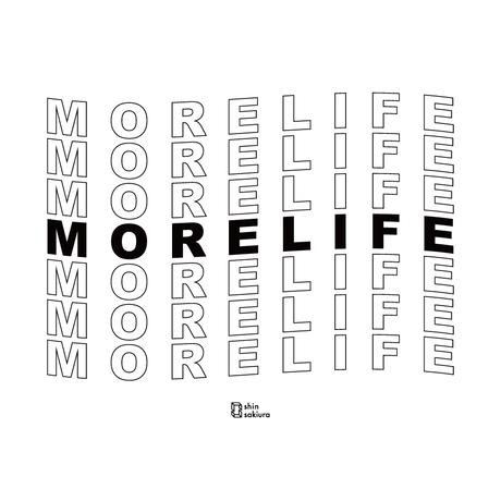 Shin Sakiura - More Life 半袖Tee