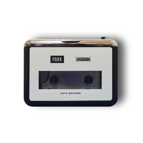 "PARK ""SUPERSOUND"" カセットテーププレイヤー"