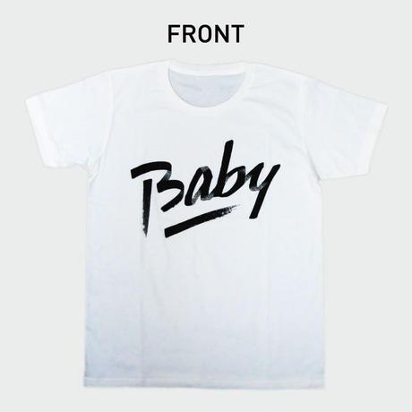 80KIDZ - Baby カバーアート Tee (white)