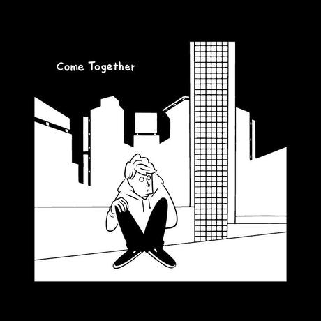 TAAR - Come Together カバーアートTee (black/white)
