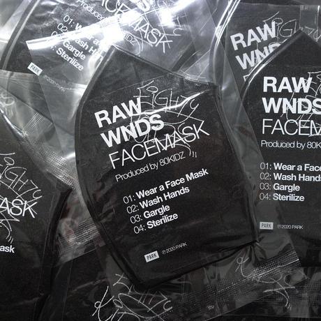 "80KIDZ - RAW WNDS MIXTAPE ""FACEMASK"""