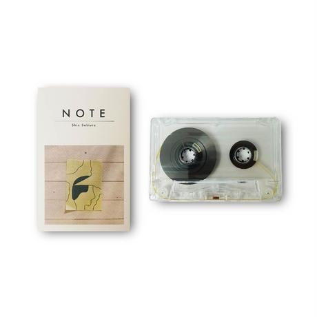 Shin Sakiura - NOTE (Cassette Tape)