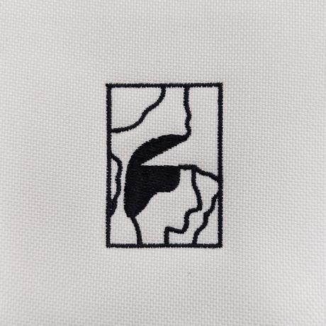 Shin Sakiura - NOTE フラットポーチ (beige / S)