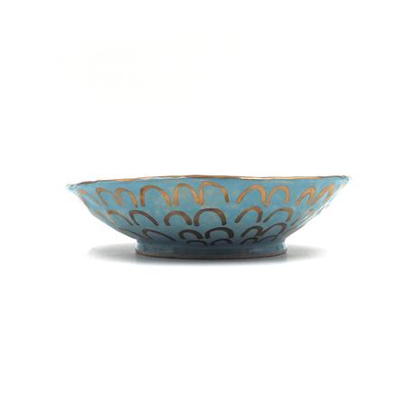 SANZOKU お皿・ブルー(2)