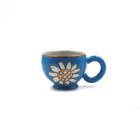 SANZOKU 花カップ・ブルー(1)