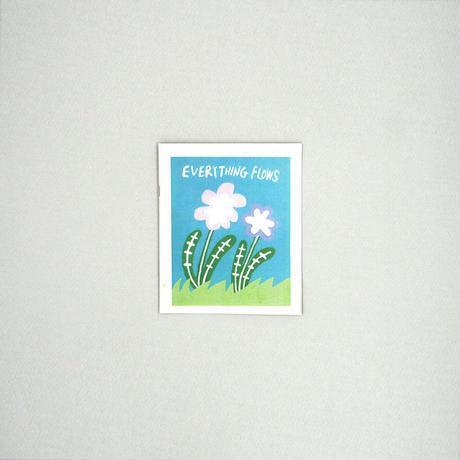 春山拓思・ZINE「EVERYTHING FLOWS」