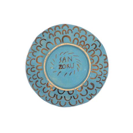 SANZOKU お皿・ブルー(1)