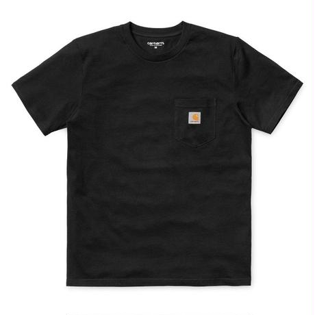"Carhartt WIP ""S/S POCKET T-SHIRT"" BLACK"