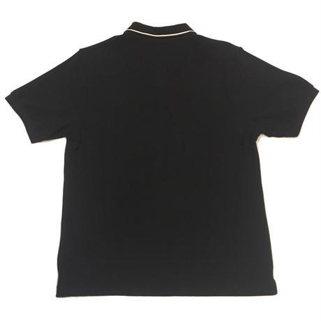 """Stussy """"Jullian Full Zip Polo"""" BLACK"""