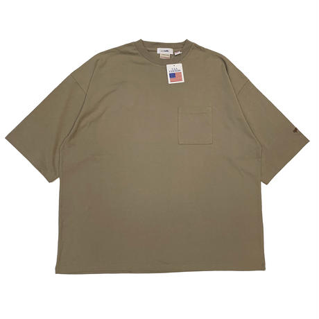 "parklife original ""H/W OVERSIZED T-SHIRT"" KHAKI"