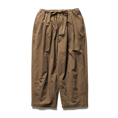 "TIGHTBOOTH PRODUCTION ""SUCKER BAGGY SLACKS"" BROWN"