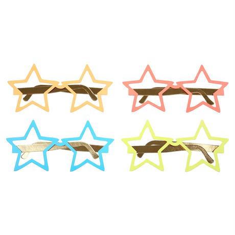 【MeriMeri】スーパーヒーローJAZZY STAR/スター型めがね/12個入り [MM0303-45-2788]
