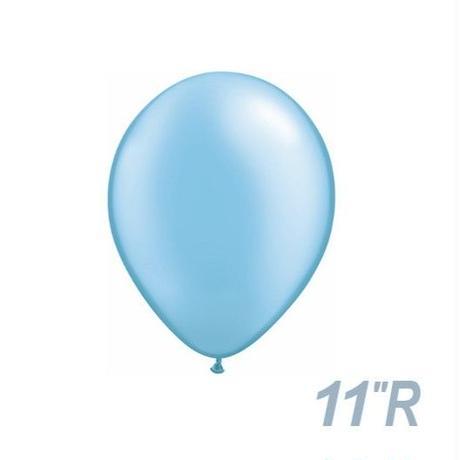 【ゴムバルーン】11インチ パール/5個セット 約28cm ラウンド 無地 [BG0103-437-P]