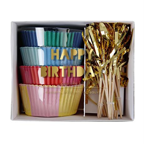 【MeriMeri】カップケーキキット/HAPPY BIRTHDAY タッセル [MM0206-45-1687]