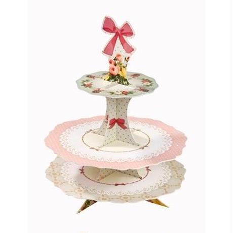 【Talking Tables(トーキングテーブル)】ケーキポップススタンド/リボン&レース (FF-POPSTAND)