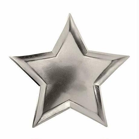 【MeriMeri(メリメリ)】STAR SILVER FOIL PLATE [MM0203-45-2490]