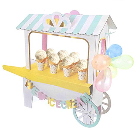 【MeriMeri】センターピース/アイスクリームカート/ice cream shop [MM0207-45-1819]