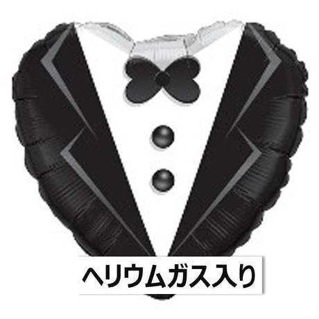 ぷかぷか浮かぶ♪ ウエディンングタキシード Qualatex [BF0503-15784-G]