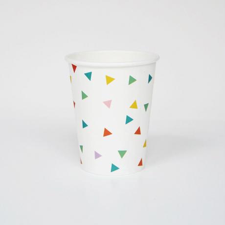 【My Little Day】ペーパーカップ/ マルチカラー 8個入り(MD016)