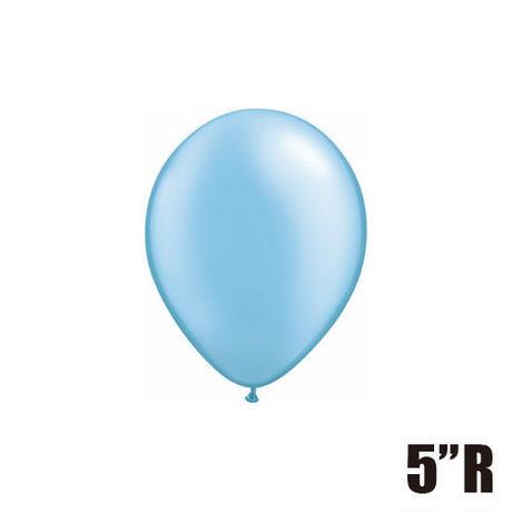 【ゴムバルーン】5インチ パール/5個セット約13cm ラウンド 無地[BG0101-435-P]