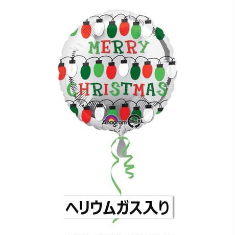 ぷかぷか浮かぶ♪ シルバーバルーン クリスマス Anagram [BF0501-27237-G]
