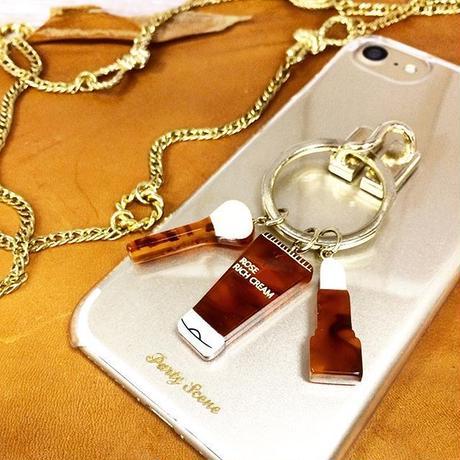 コスメリング  iPhoneケース (リングスタンド機能付)