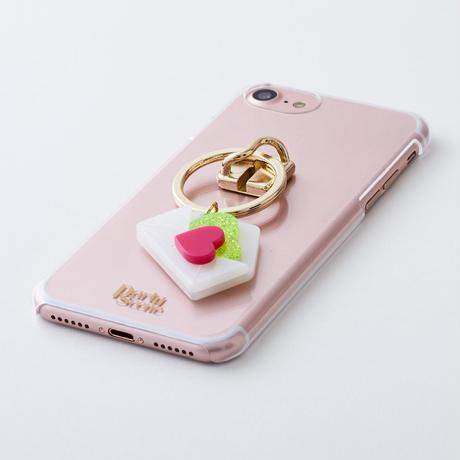 ラブレターリング iPhoneケース(リングスタンド機能付)