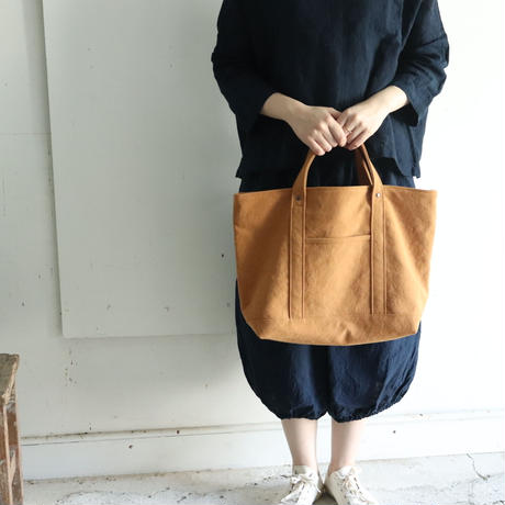 365tote(ファスナ-)  キャラメル