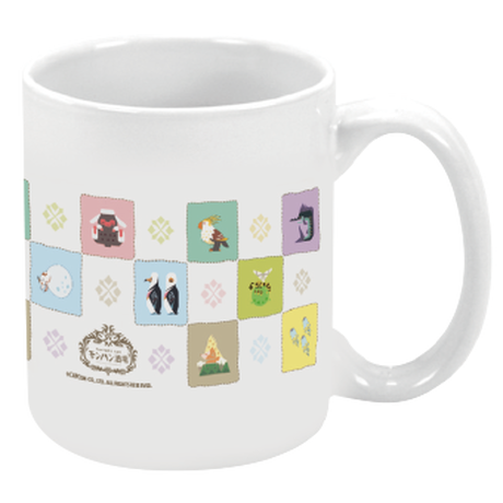 『モンハン酒場』オリジナルマグカップ (環境生物)