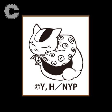 「夏目友人帳」新作アニメーション上映記念コラボカフェ ニャンコ先生オリジナルスタンプ