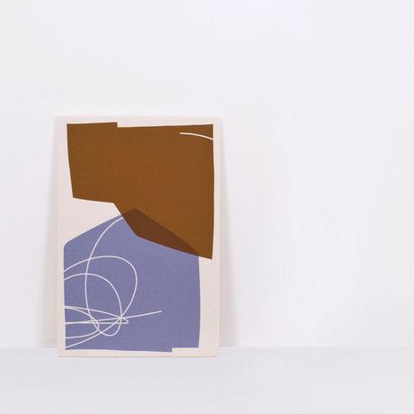 Textile/Sunset violet        W605×H910×D30mm