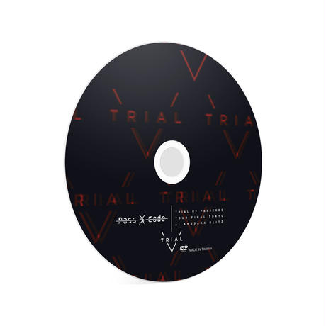 【PassCode】TRIAL OF PASSCODE ライブDVD
