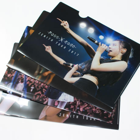 【PassCode・オンライン限定】Clear File(4枚セット)