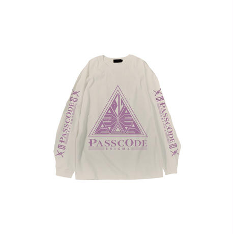 ENIGMA Long Sleeve Tシャツ(SAND)