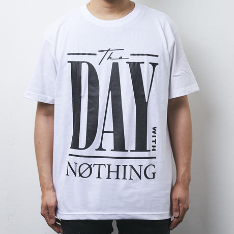【PassCode】THE DAY WITH NOTHING TEE(WHITE)