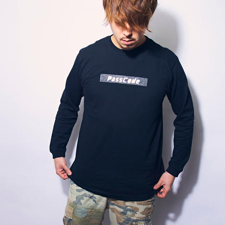 【PassCode】BOX LOGO  LONG SLEEVE SHIRT <T.Y.O.T TOUR2018>