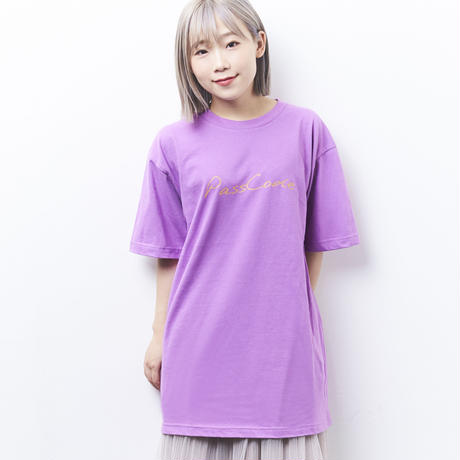 【PassCode】TROPICAL TEE(LAVENDER)