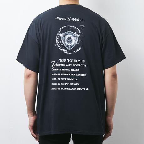 【PassCode】CLARITY TEE(BLACK)