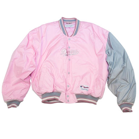 NYLON VARSITY JACKET 'STADIUM (PINK)