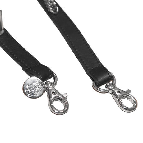 COMBINATION LEATHER SINGLE SUSPENDER