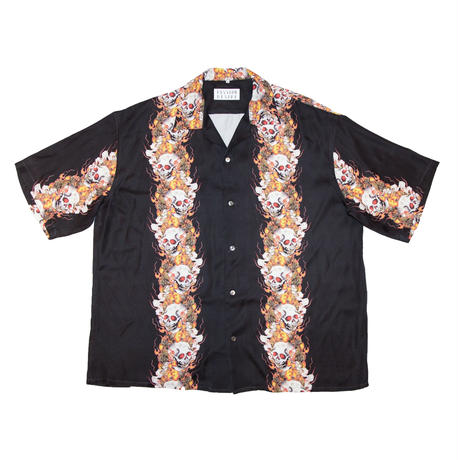 RAYON HAWAIIAN SHIRT 'SMOKE