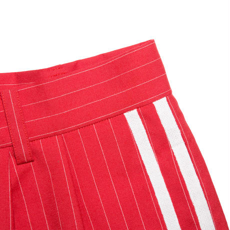 WOOL BASEBALL TROUSERS 'GENTLEMAN (RED)
