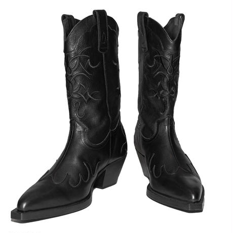 GLAM COWBOY BOOTS(BK)