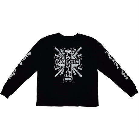 LONG SLEEVE T-SHIRT 'THE TOWN(BLK)